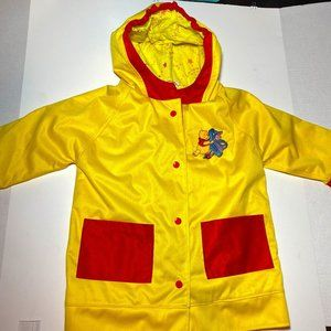 Winnie the Pooh Fall Coat Toddler size 2 by Small Pockets
